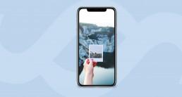 Diseño para redes sociales iphone